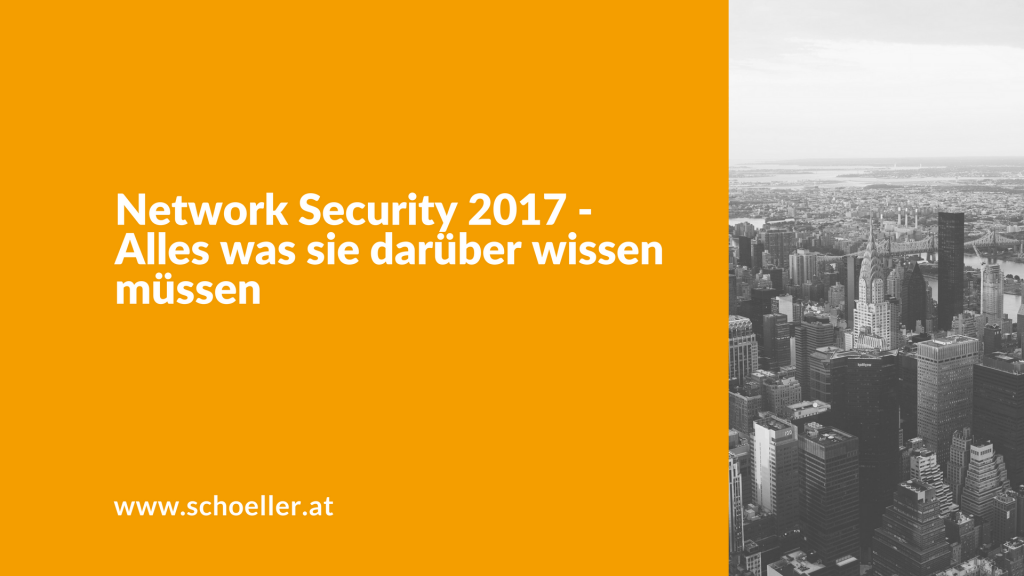 Network Security 2017