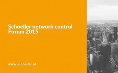 Schoeller network control Forum 2015