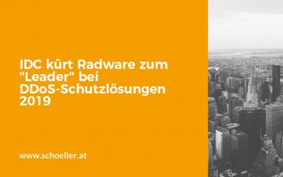 """IDC kürt Radware zum """"Leader"""" bei DDoS-Schutzlösungen 2019"""